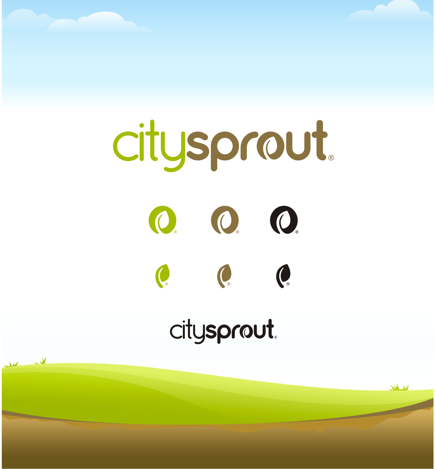 Create the next logo for CitySprout