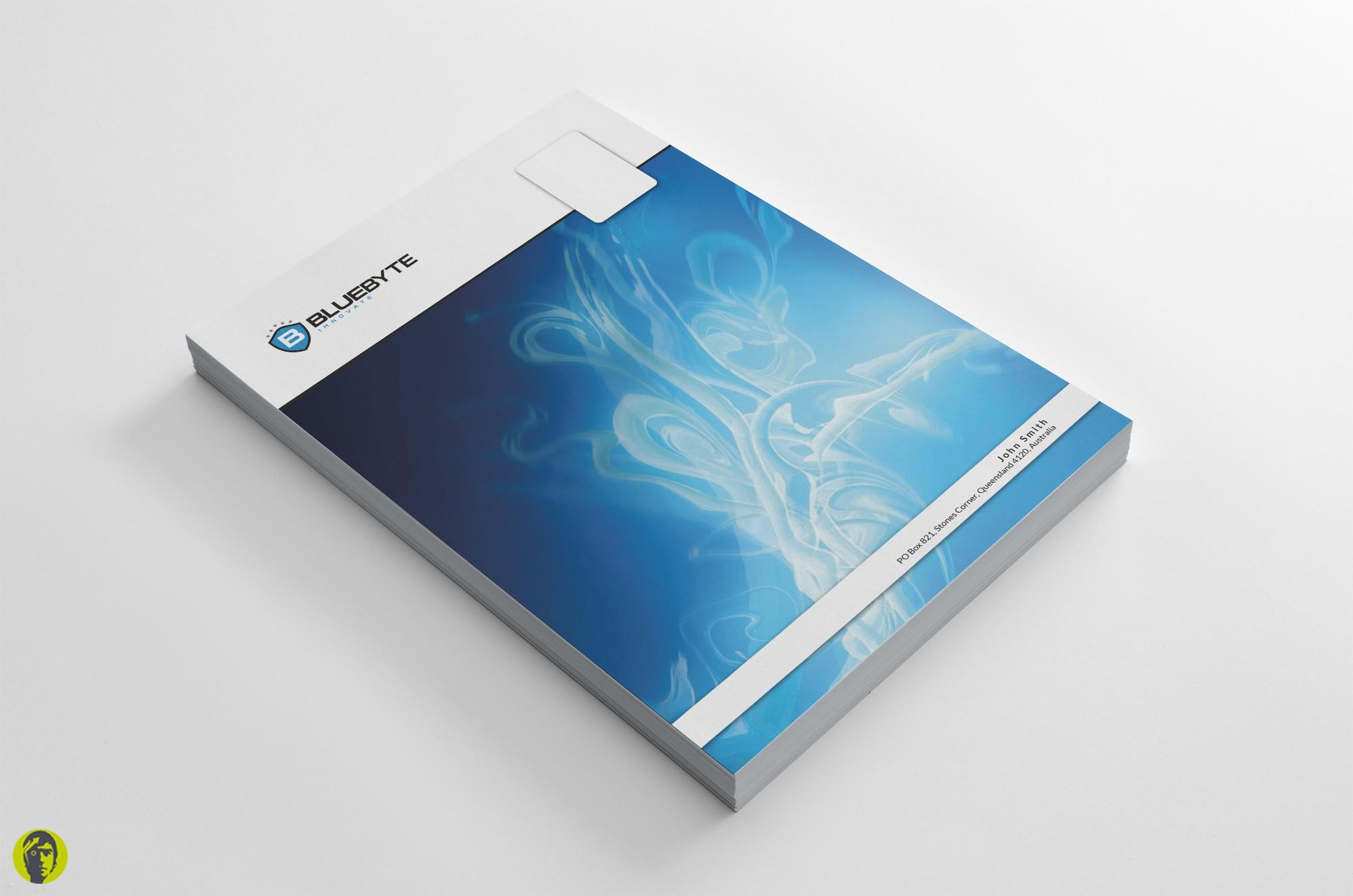 stationery for BLUEBYTE Innovate