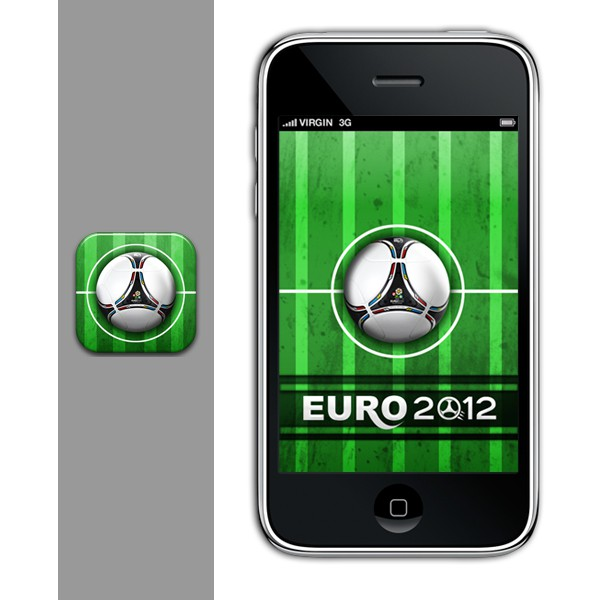 Unique & stylish icon needed for a football iOS app