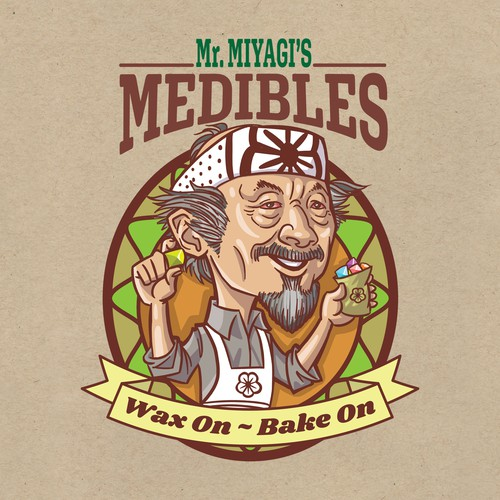 Mr Miyagi's Medibles logo