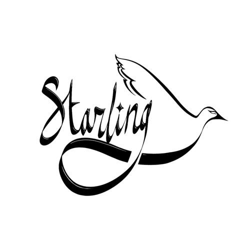 Online Retail Fashion Logo design for Starling