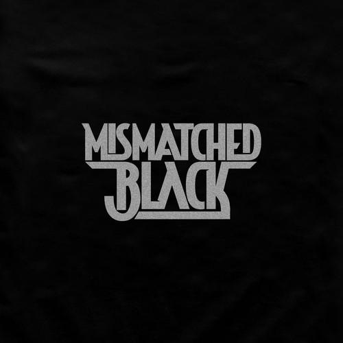 Bold. masculine logo for Mismatched Black