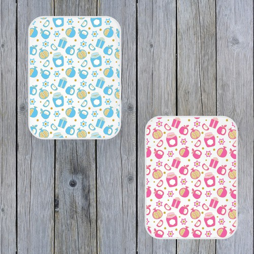 design for baby blanket