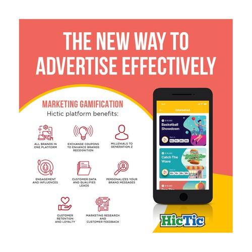 Gamification Platform Banner Ad