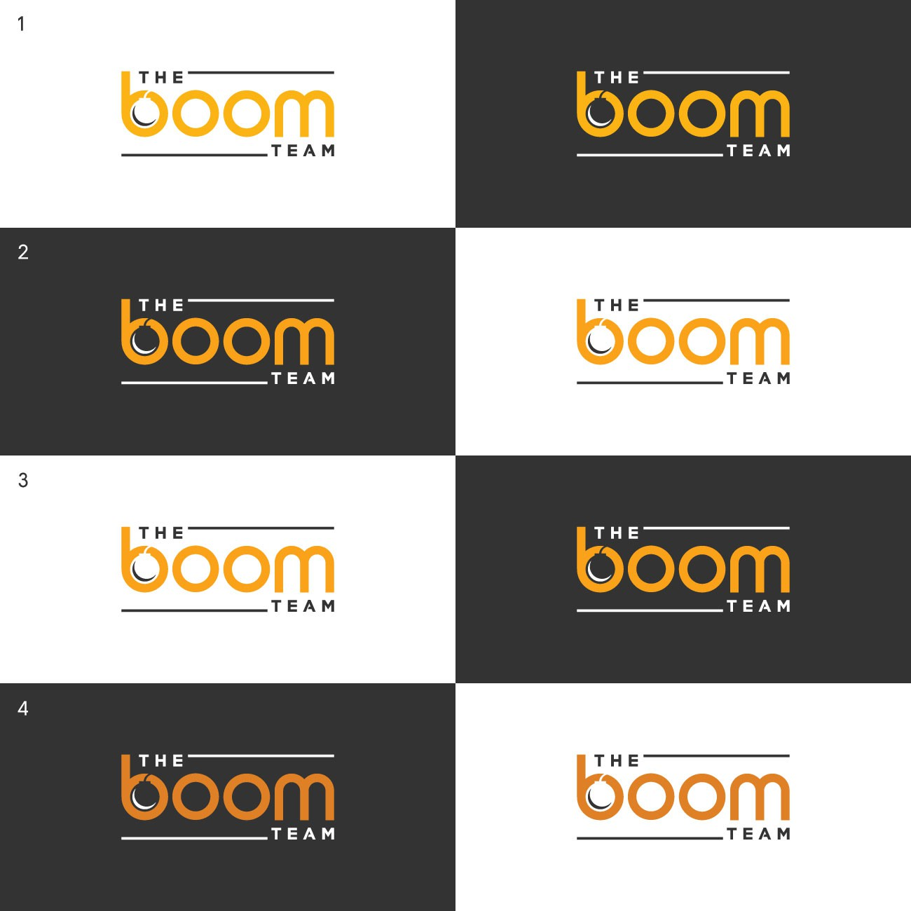 The Boom Team is looking for a fresh new logo!