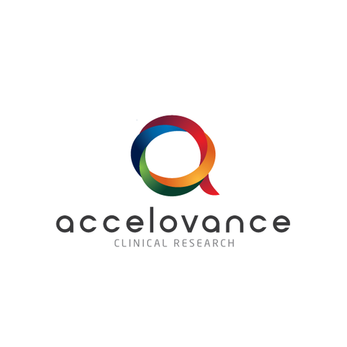Logo design for Accelovance - Clinical Research