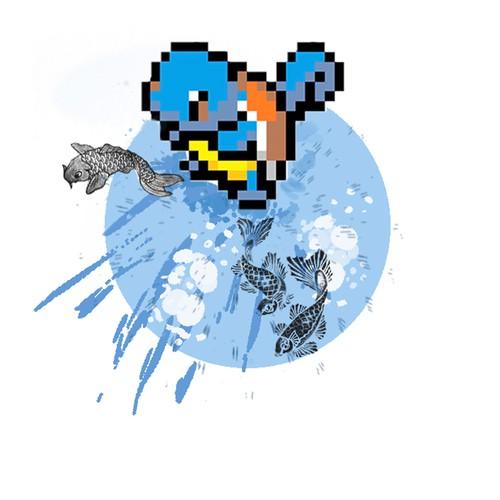 Background for Pokemon tattoo
