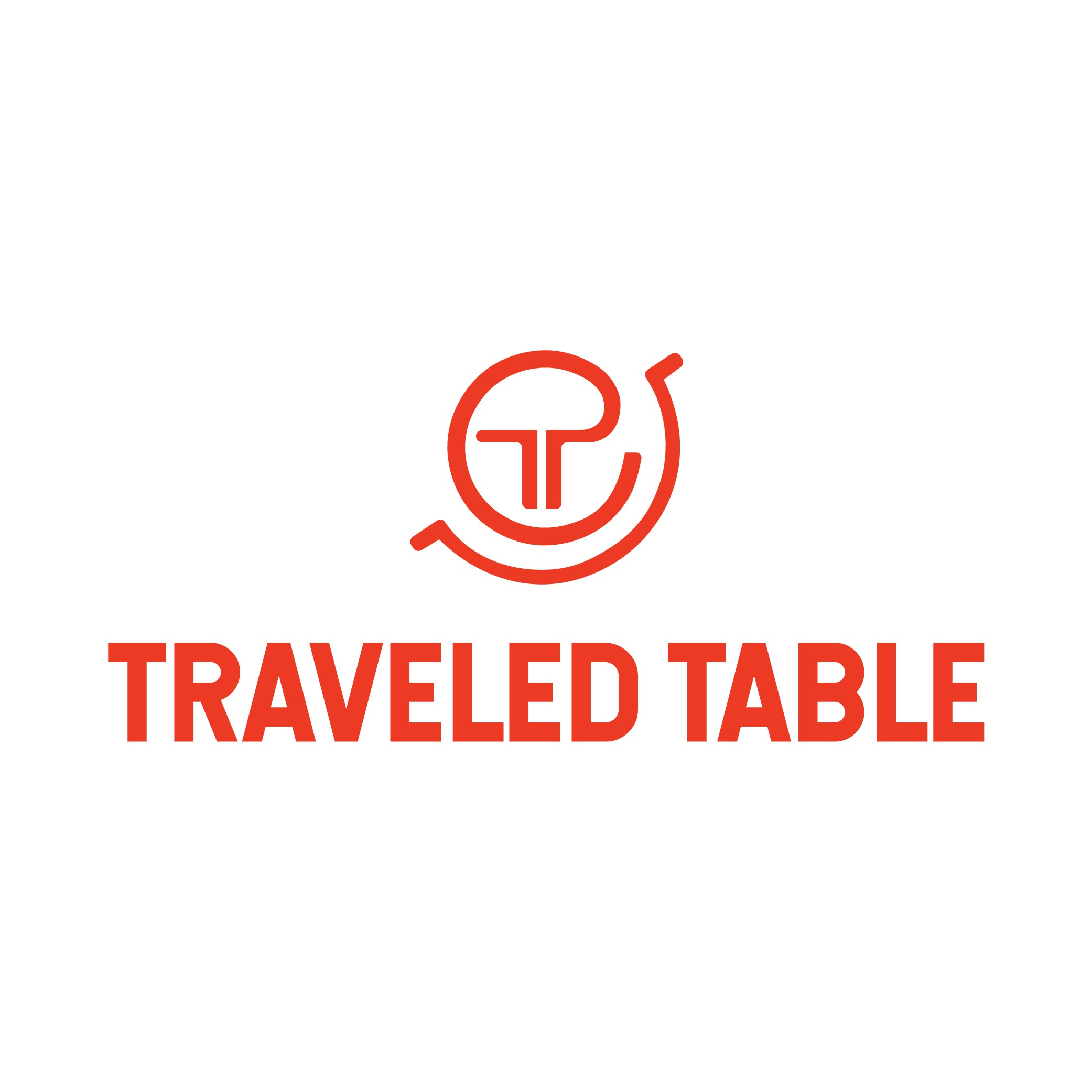 Kitchenware Logo for Well-Traveled Foodies and Home Cooks