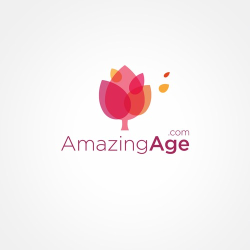 Logo for a positive view of aging