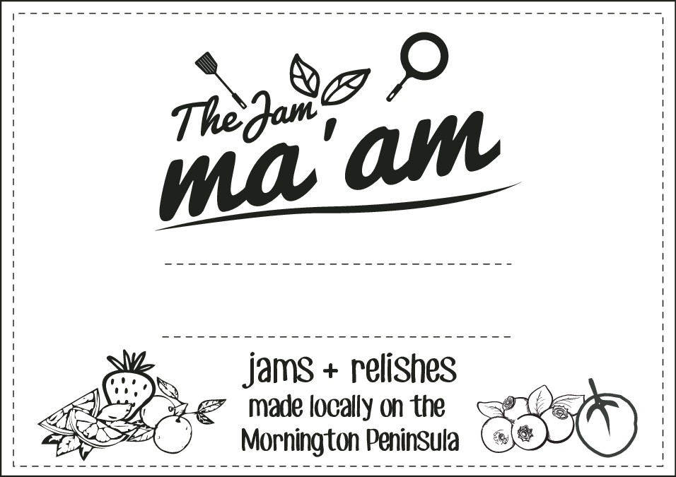 Create a funky new label for The Jam Ma'am