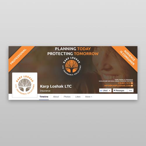 Karp Loshak LTC Facebook Page Design