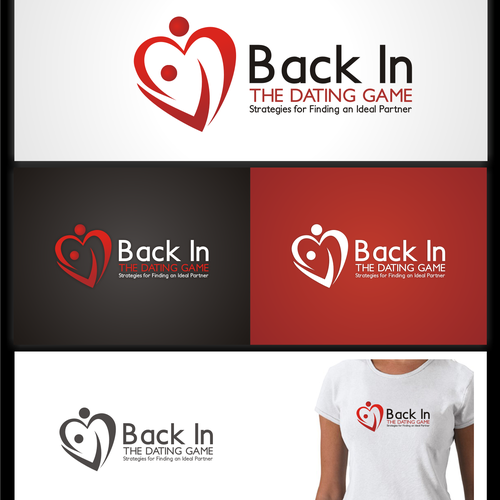 Logo for Back in the Dating Game