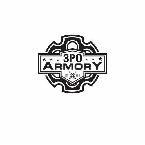 Logo design concept for 3P0