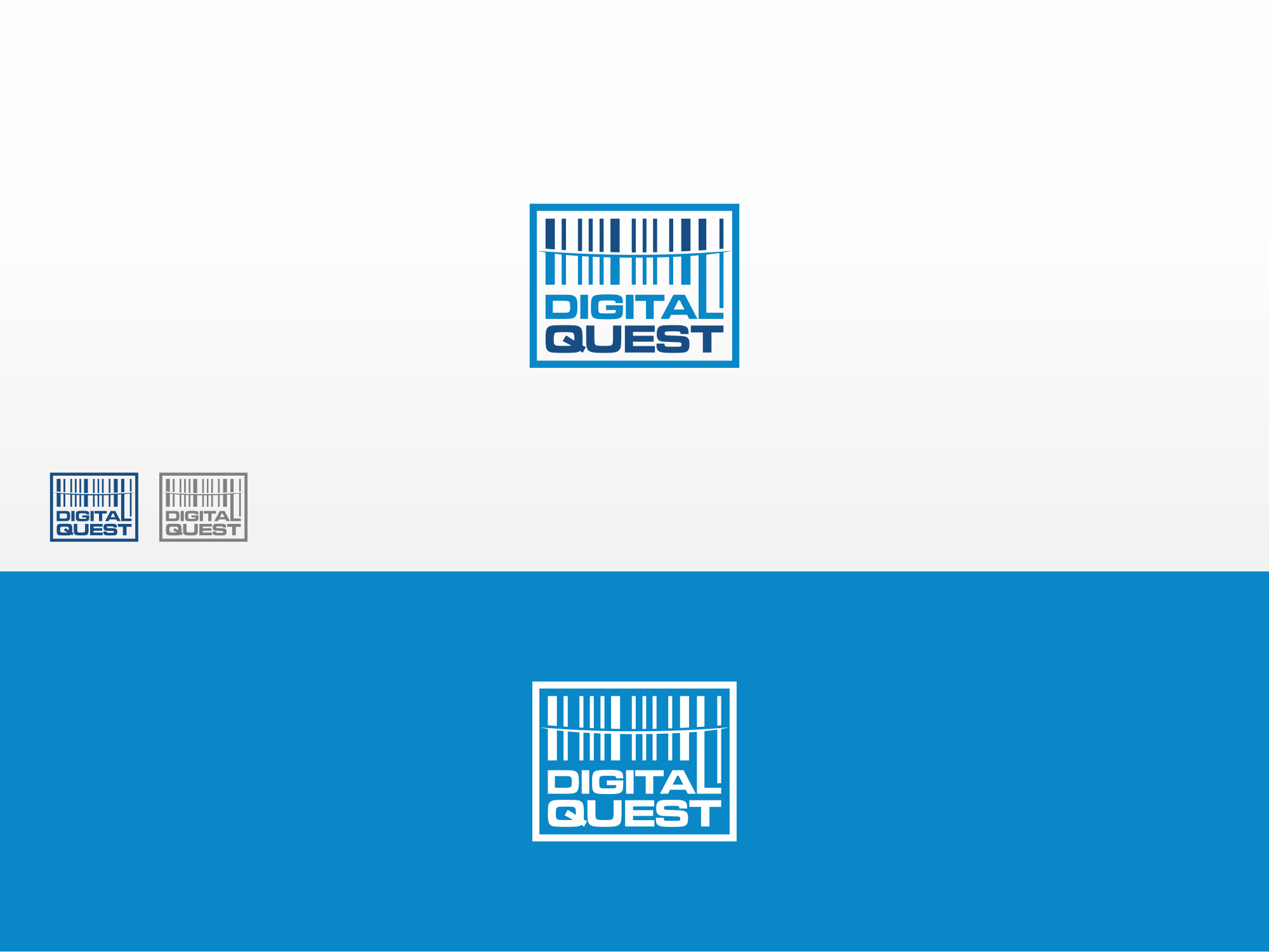 Creative logo design that gives a wow effect for Digital Quest