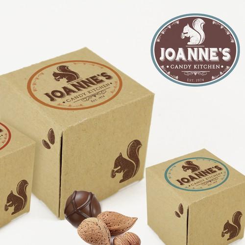 Small fine Chocolatier Logo
