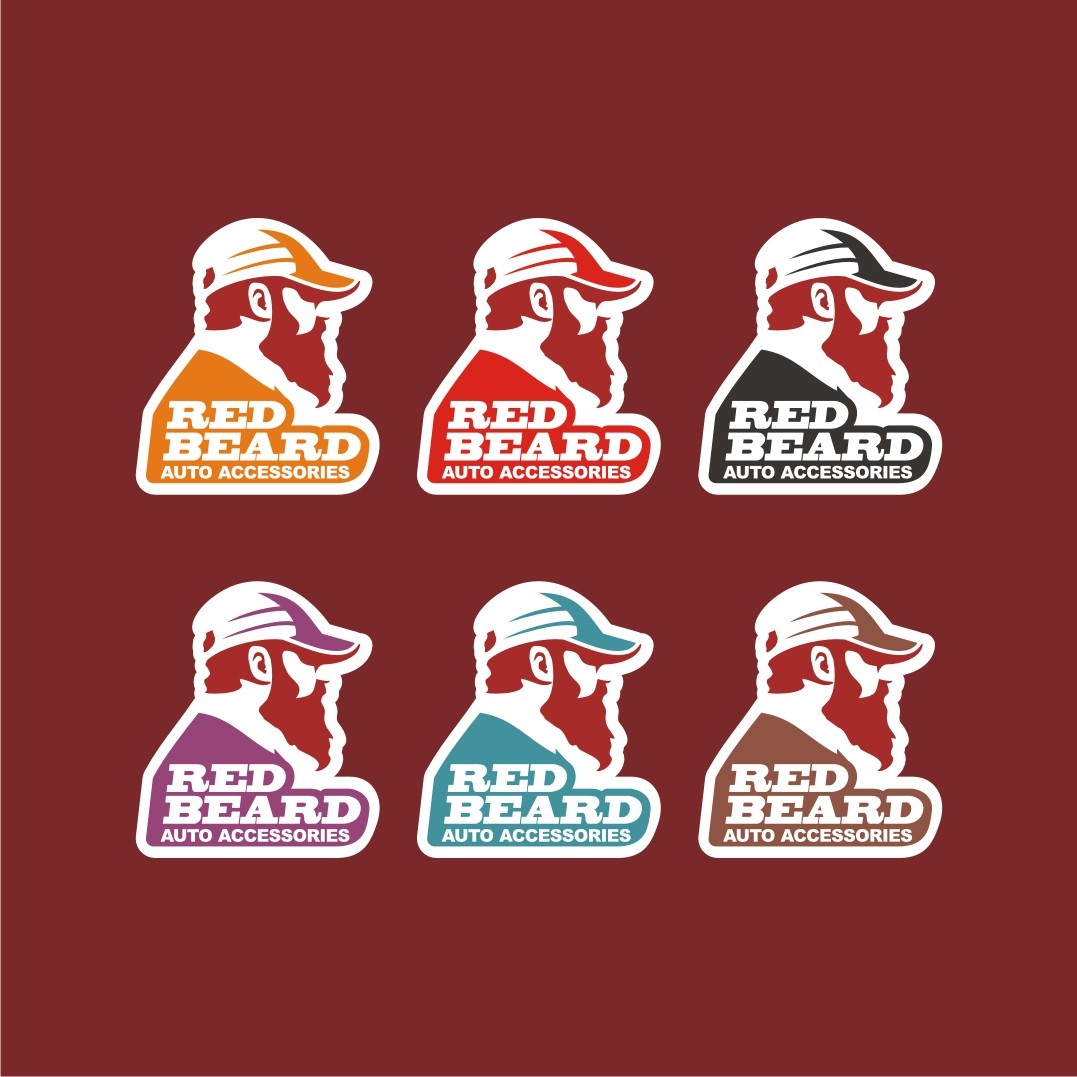 Design an attractive logo for Red Beard Auto Accessories