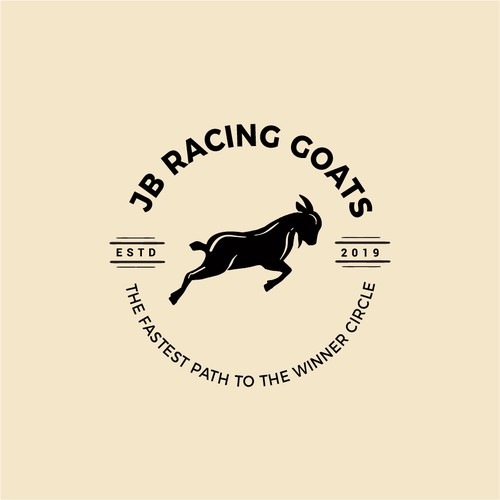 Vintage goat logo