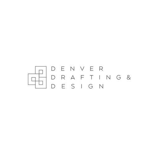 Logo concept for Denver Drafting & Design contest