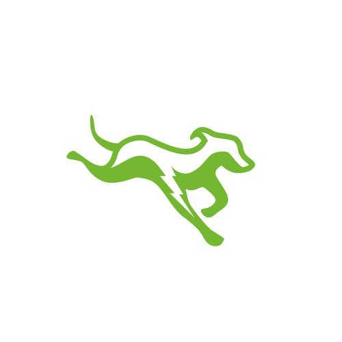 Logo design for an Agility dog training