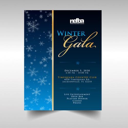 Invitation for Winter Gala