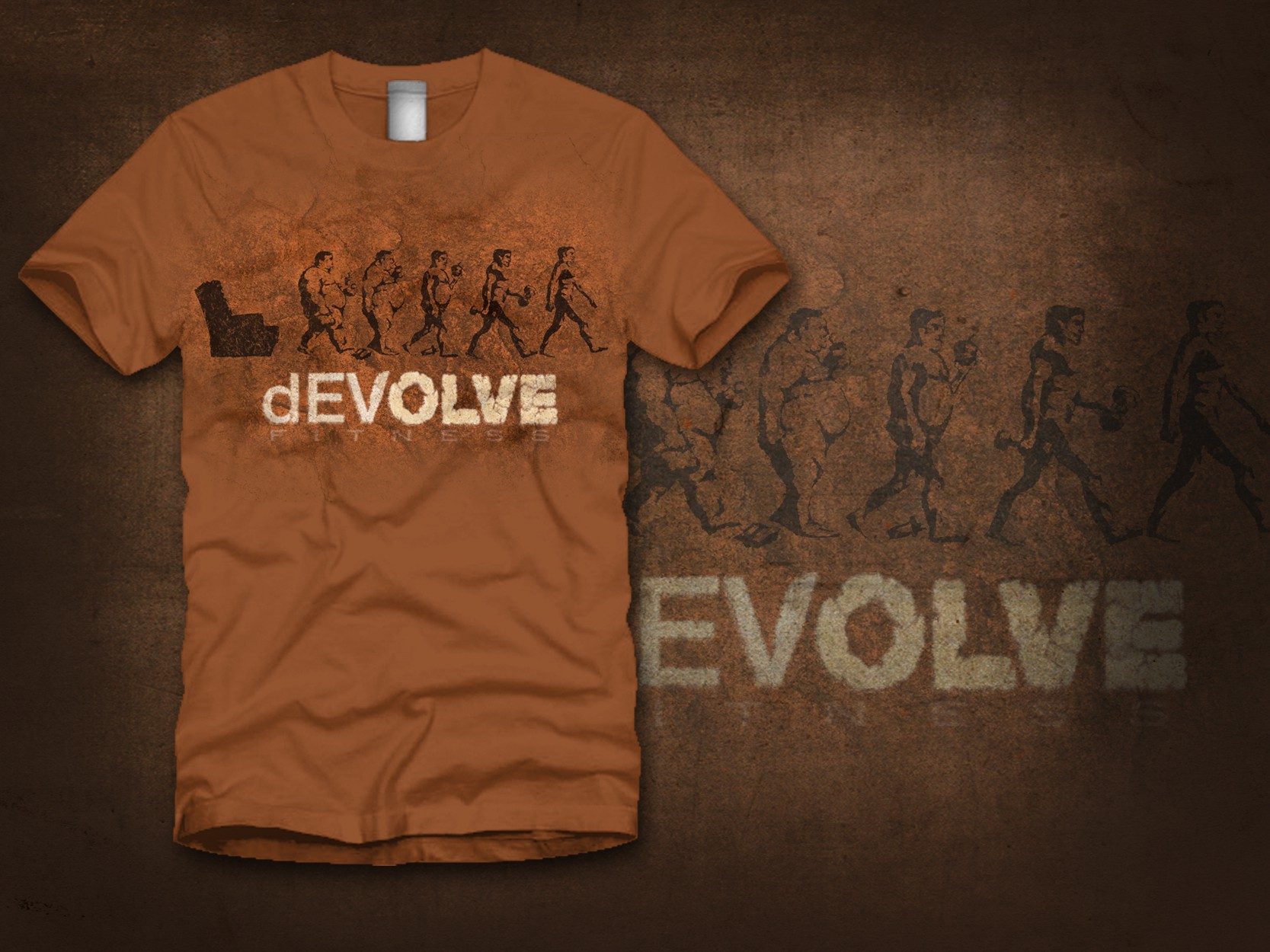 dEVOLVE FITNESS needs a new clothing or merchandise design