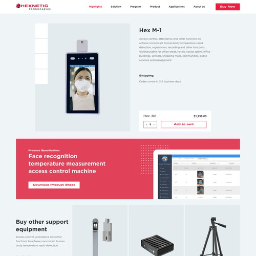 Product Single page