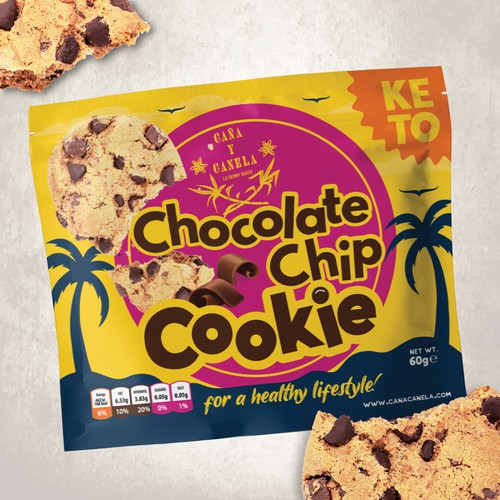 Packaging Design for Cookie Product