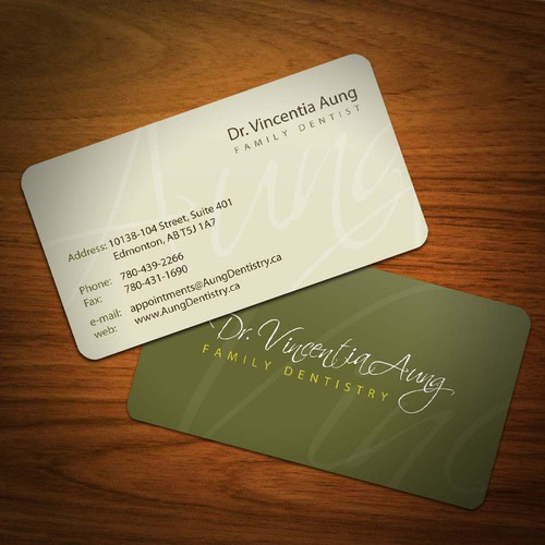 Help Dr. Vincentia Aung with a new stationery
