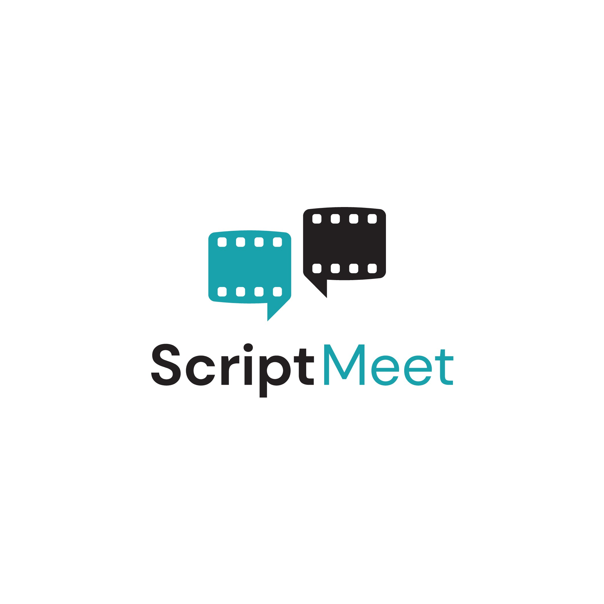 ScriptMeet needs a logo for a network & community within film making!