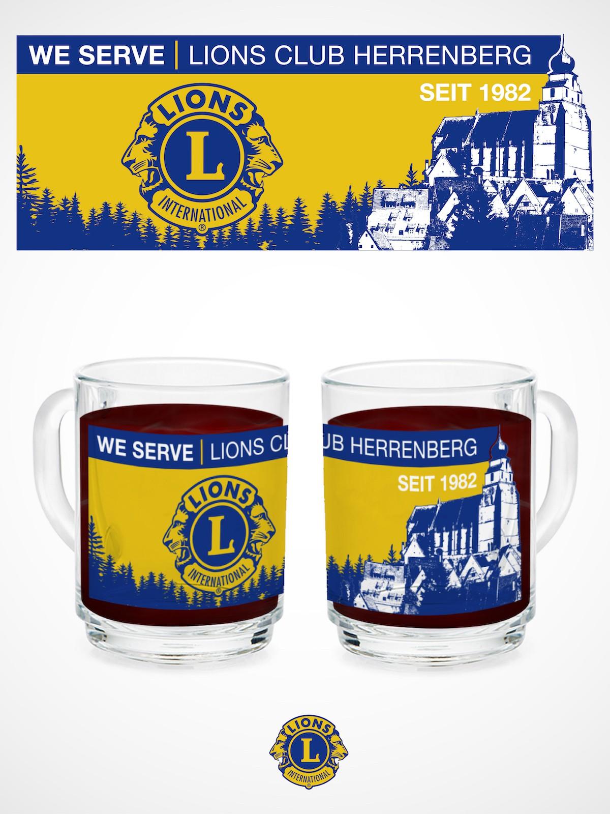 Lions Club modern mug