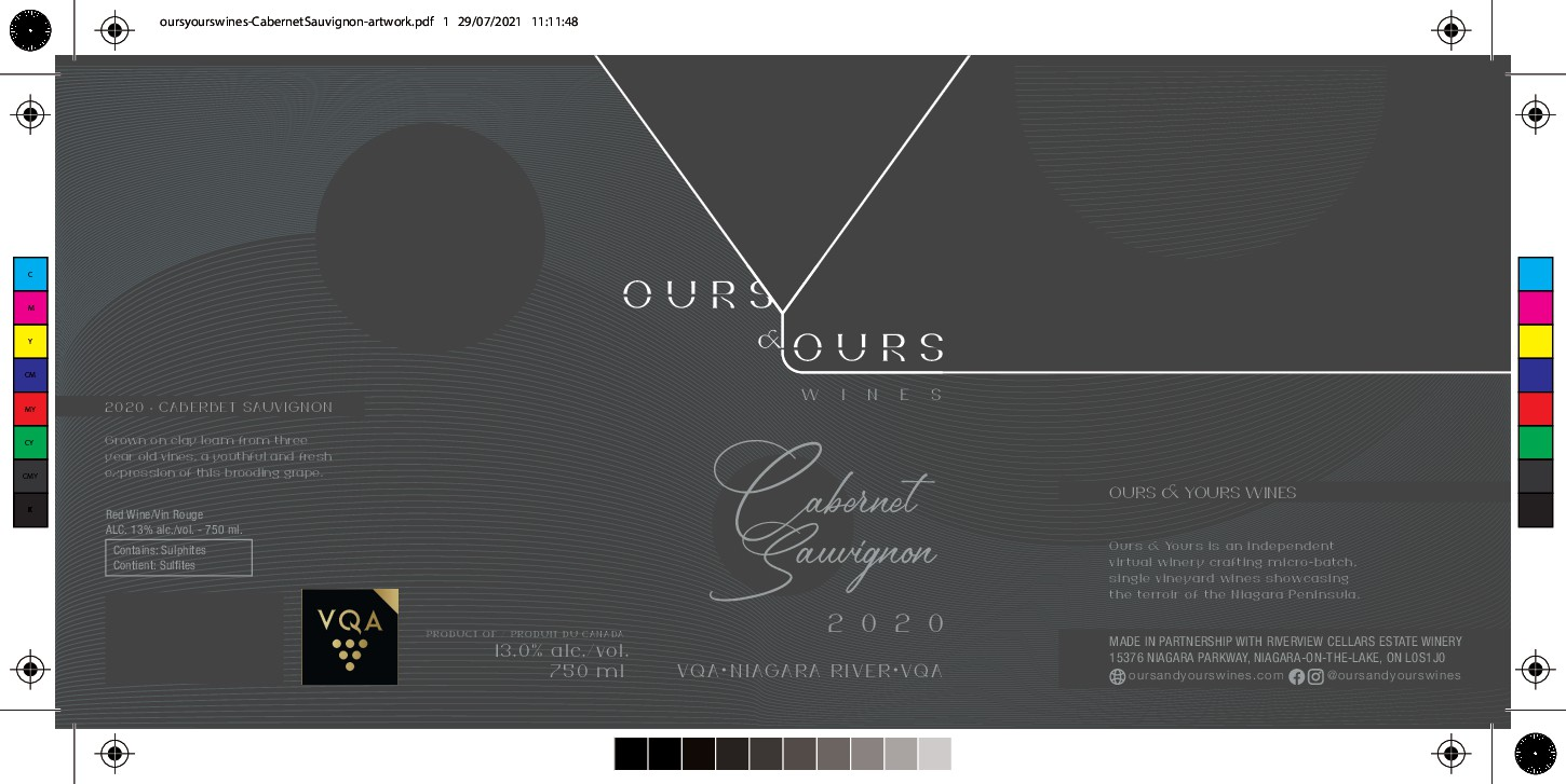 Design a fun and professional wine label for a Canadian Winery
