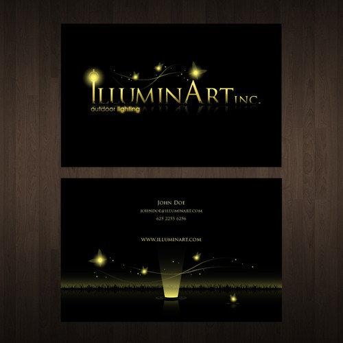 New logo wanted for illuminArt, inc. outdoor lighting