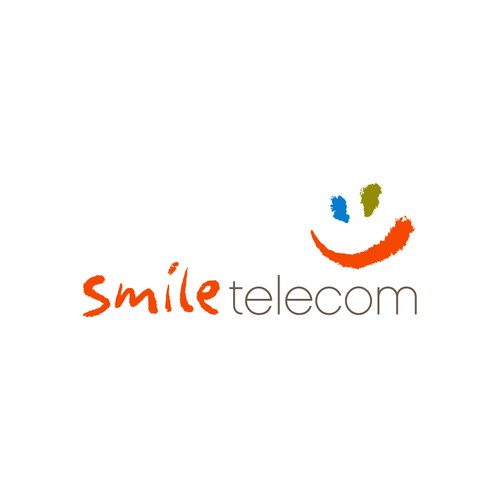 Youthful and creative logo for a telecommunication company