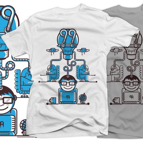 Create 99designs' Next Iconic Community T-shirt