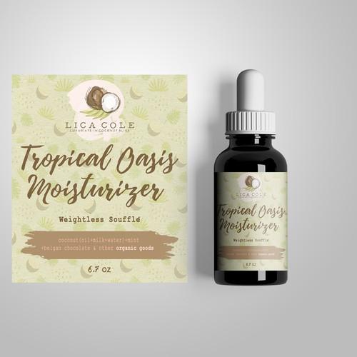 Label Design for Organic/Eco friendly Body Care