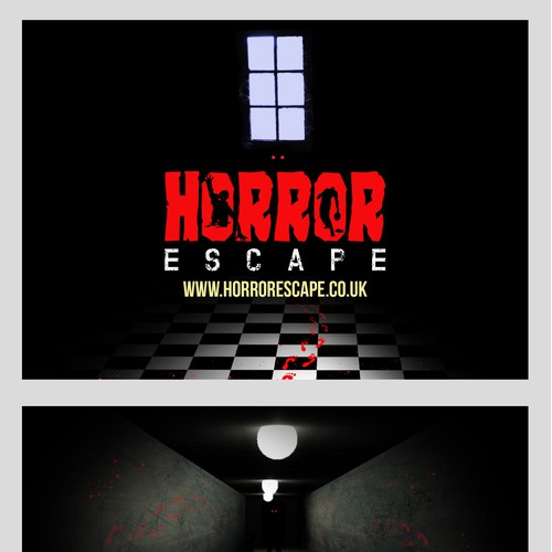 Flyer concept for Horror Escape