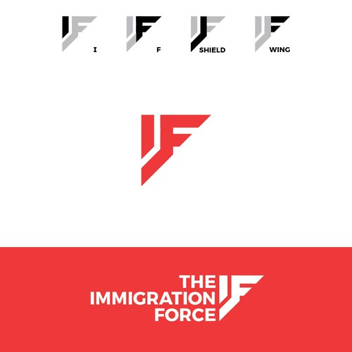 Strong logo for an Immigration Law Firm