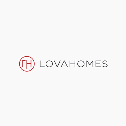 Lova Homes Logo Design