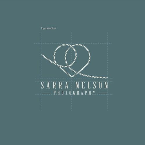 Logo Concept For Nautical Wedding Photographer