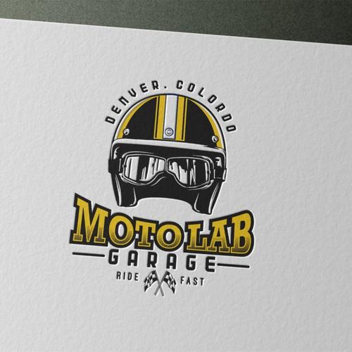 motolab garage logo