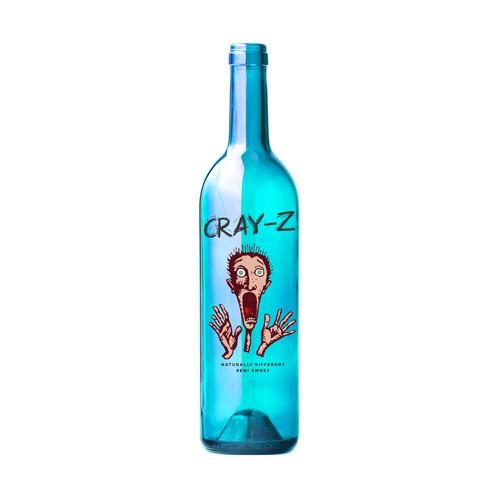 Cray-z wine label