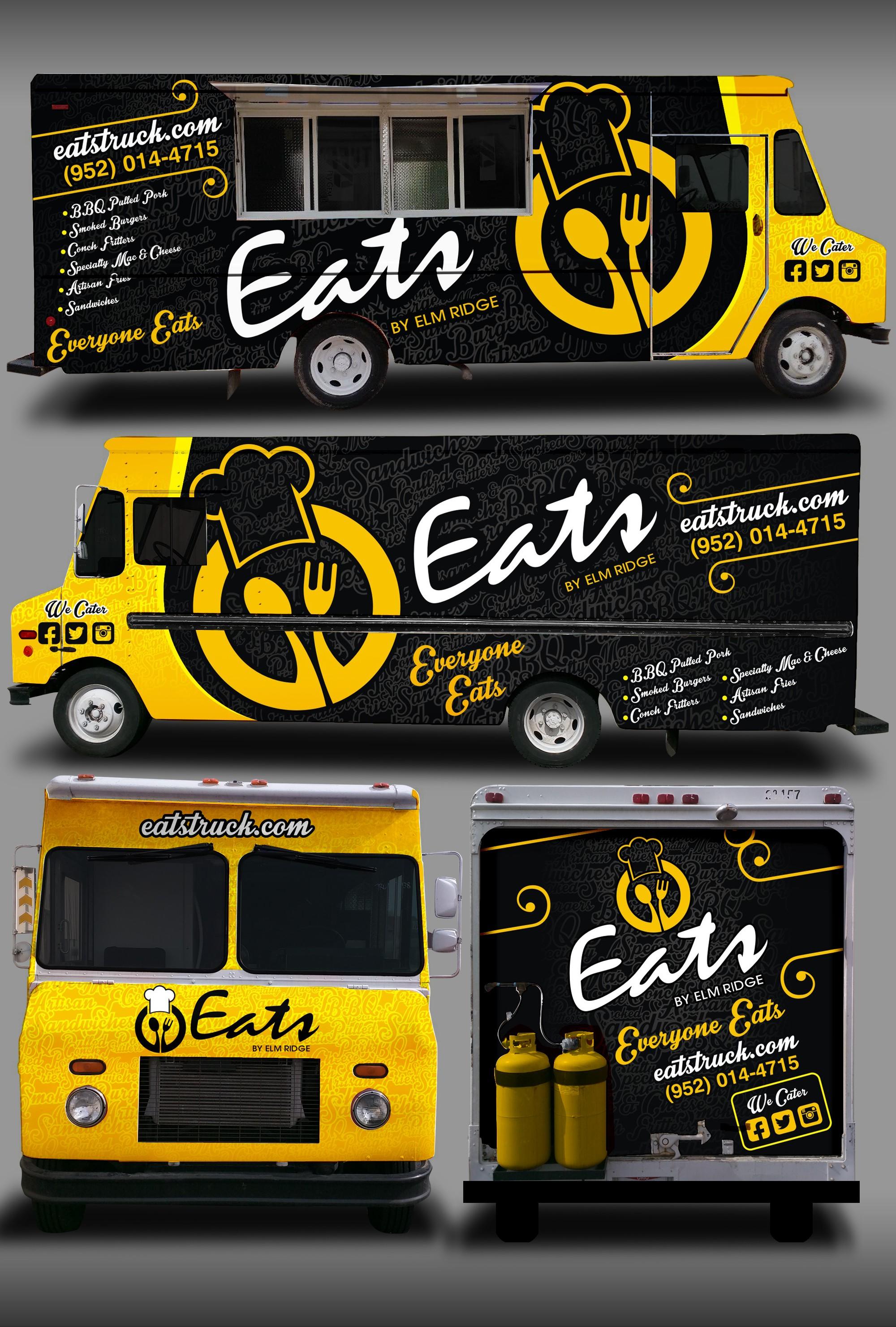 Food Truck Wrap - Eats