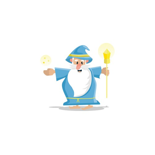 Create a wizard character for a startup!