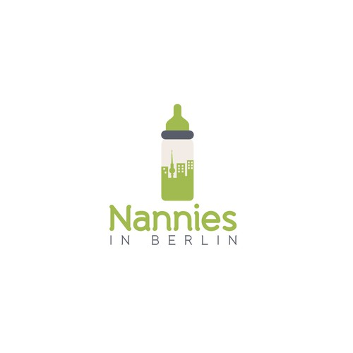 "Logo for ""Nannies in Berlin"""