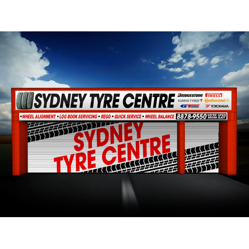 Signage for Sydney Tyre Centre