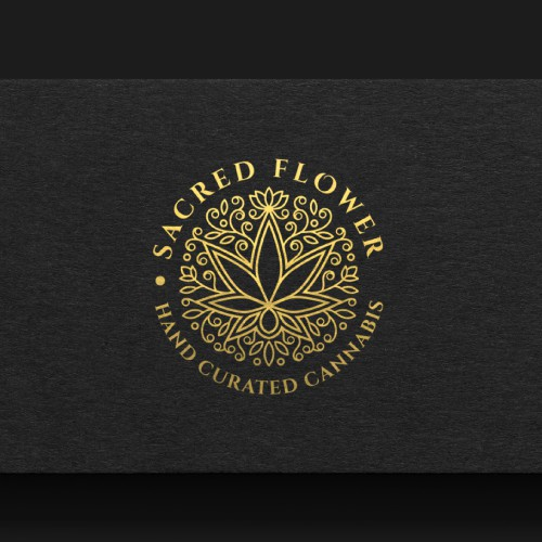 Discover elegant Logo design for Sacred Flower!