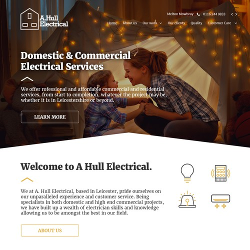 Design proposal for energy company
