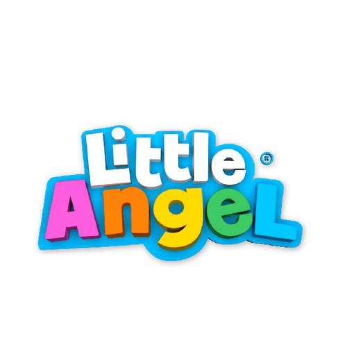 Playful bold 3d logo for Little Angel.
