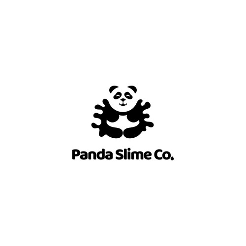 Logo concept for slime toys producing company