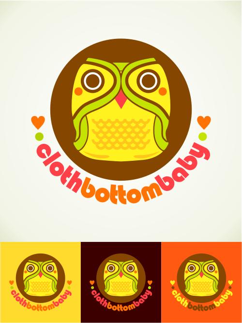 Cloth Bottom Baby needs a new logo